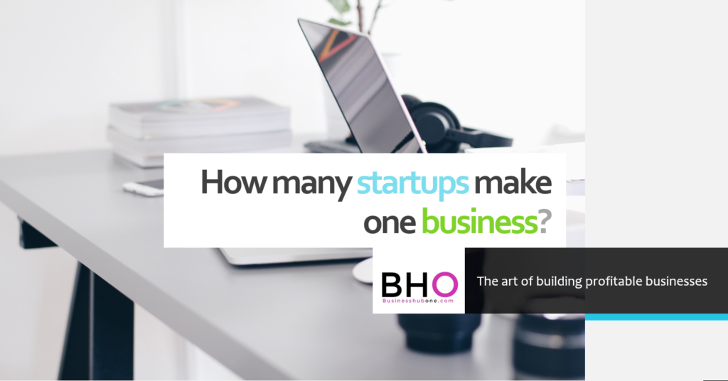 how many startups make one business