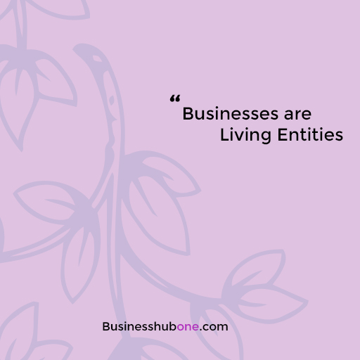 Read more about the article Businesses are living entities!
