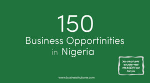 150 business opportunities in Nigeria: The complete list with practical examples