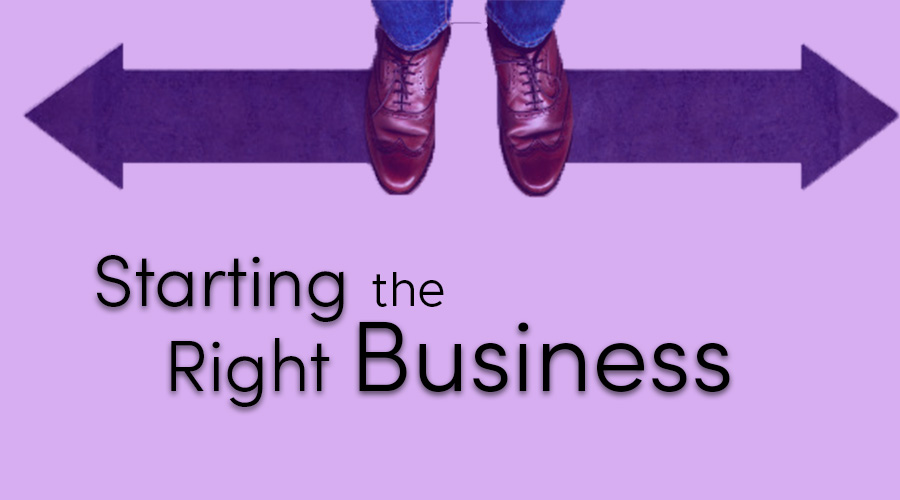 Read more about the article Starting the right business