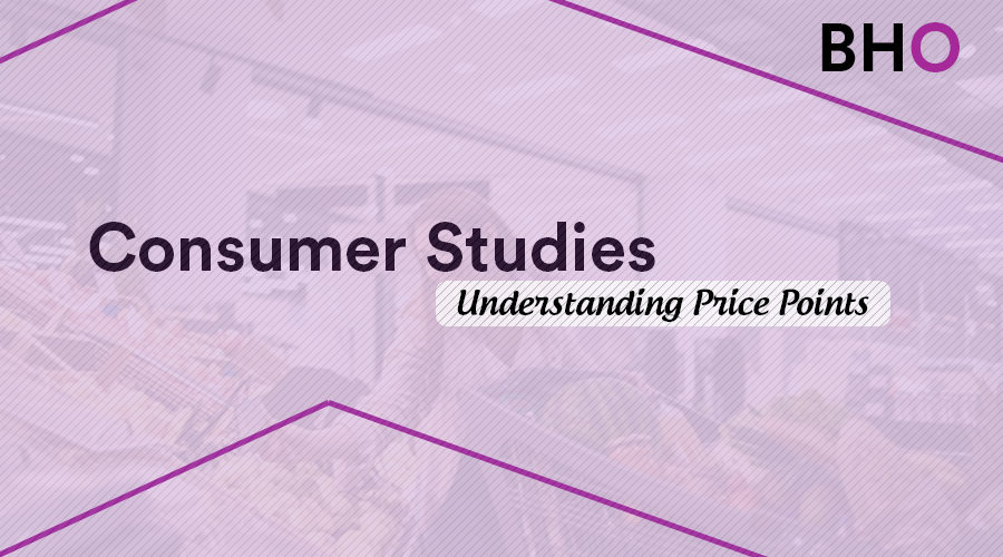Read more about the article Consumer Studies: Understanding consumer Price points