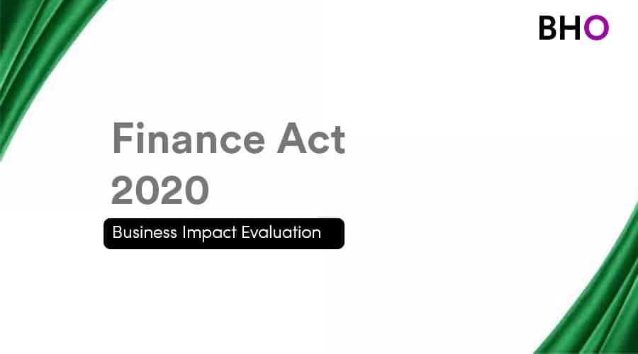 Read more about the article The Finance Act 2020: Explained