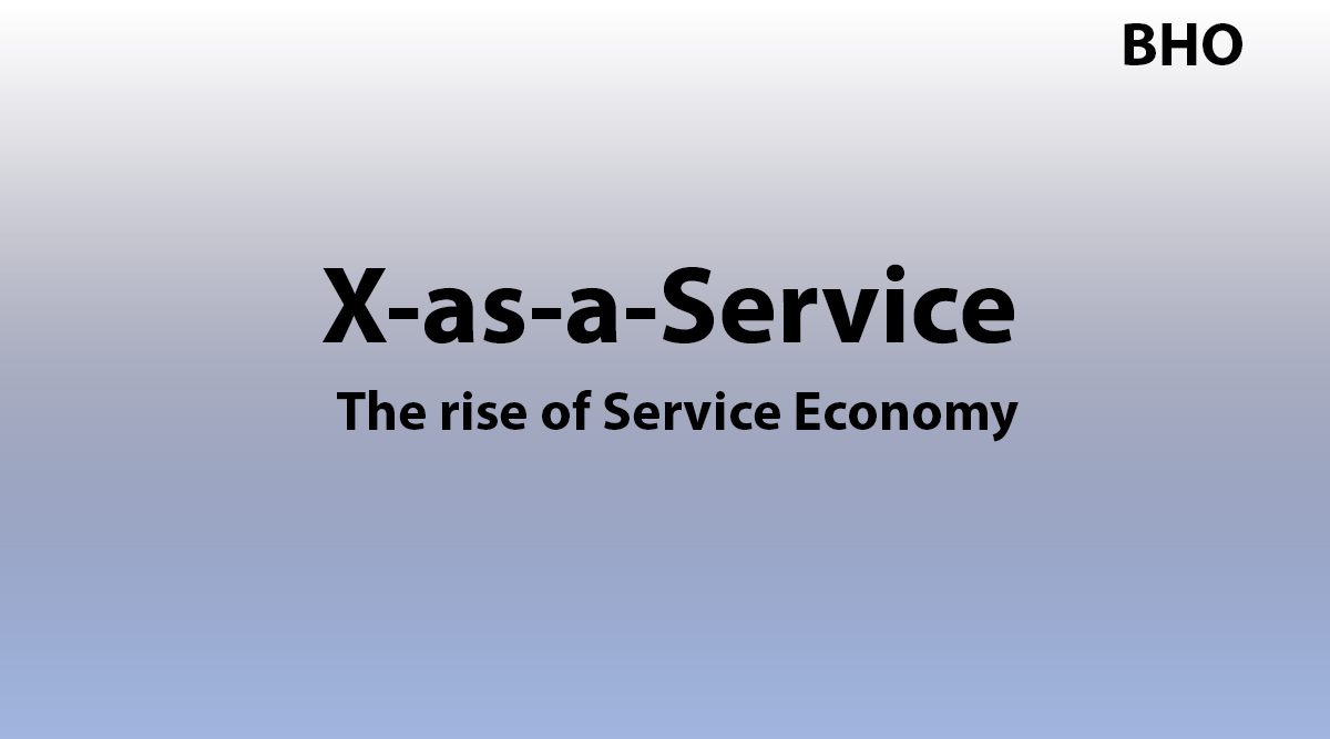Read more about the article X-as-a-Service: Service Economy